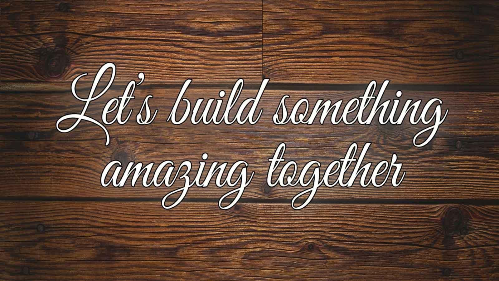 let's build an affordable bespoke website together at m power web design