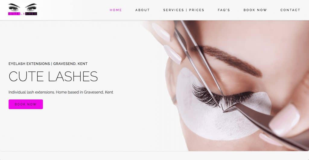 M-Power-webdesign-Cute-lashes-website